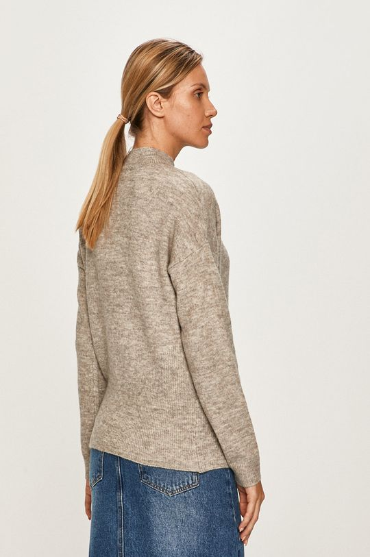 Vero Moda - Sweter 49 % Akryl, 3 % Elastan, 22 % Poliester, 26 % Wełna