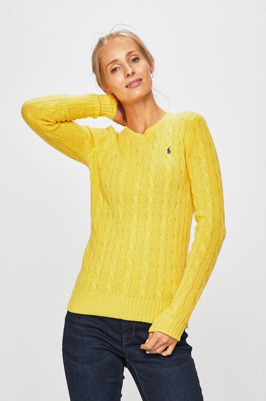 žlutá Polo Ralph Lauren - Svetr Dámský