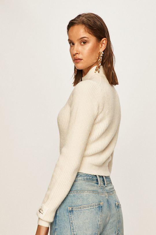 Pepe Jeans - Пуловер Silvi x Dua Lipa  47% Акрил, 3% Еластан, 30% Полиестер, 20% Вълна