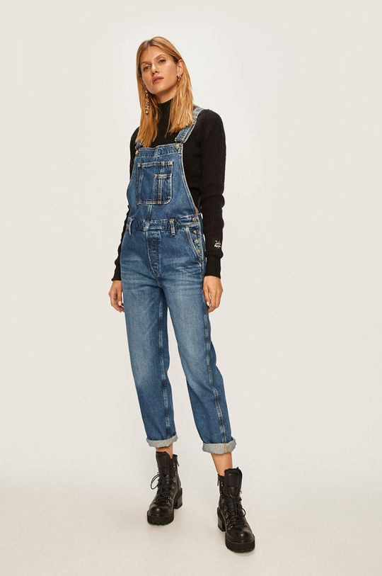 Pepe Jeans - Пуловер Silvi x Dua Lipa черен