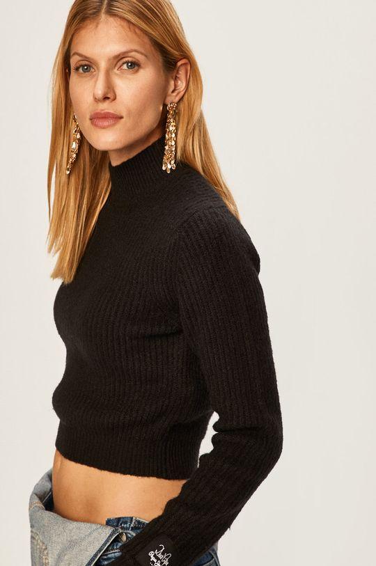черен Pepe Jeans - Пуловер Silvi x Dua Lipa