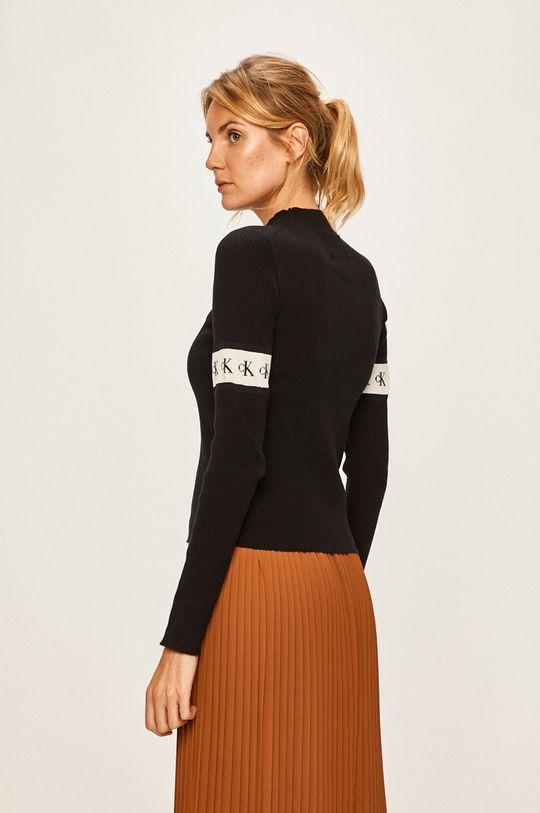 Calvin Klein Jeans - Svetr 56% Bavlna, 3% Elastan, 17% Polyester, 24% Vlna