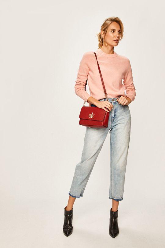 starorůžová Calvin Klein Jeans - Svetr Dámský