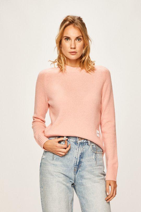 Calvin Klein Jeans - Svetr starorůžová