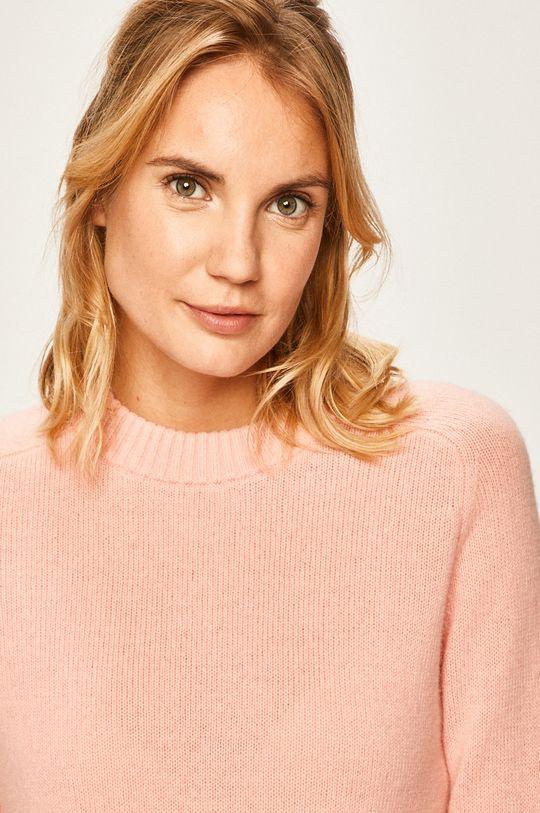starorůžová Calvin Klein Jeans - Svetr