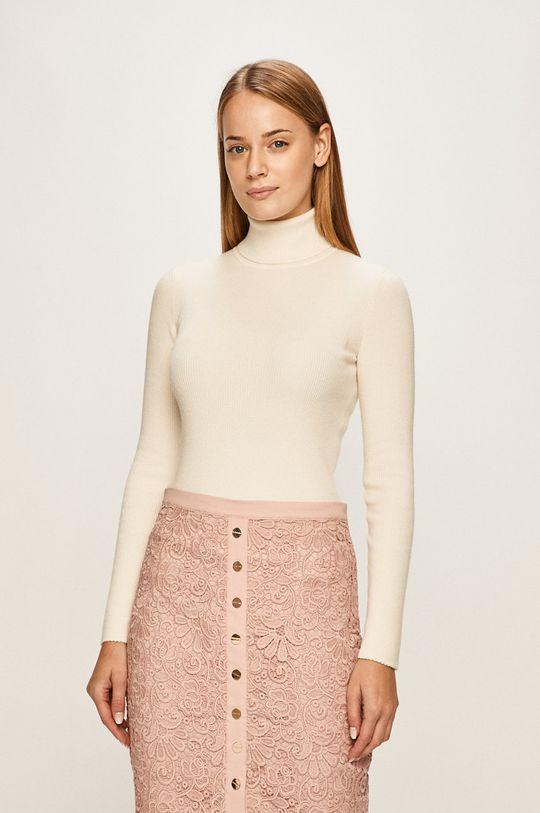 alb Calvin Klein Jeans - Pulover De femei