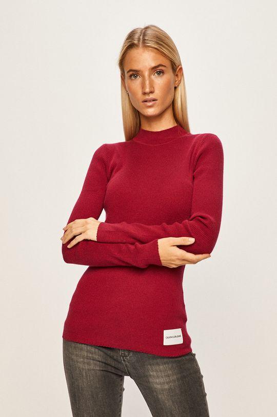 červená Calvin Klein Jeans - Svetr Dámský