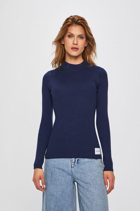 námořnická modř Calvin Klein Jeans - Svetr Dámský