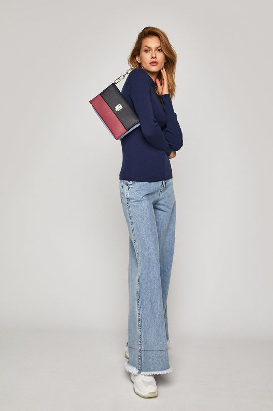 Calvin Klein Jeans - Svetr námořnická modř