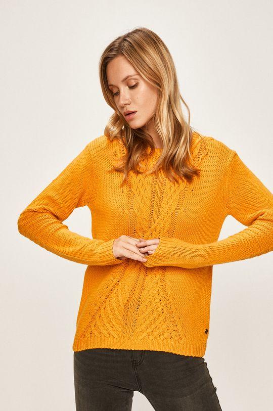 żółty Roxy - Sweter Damski