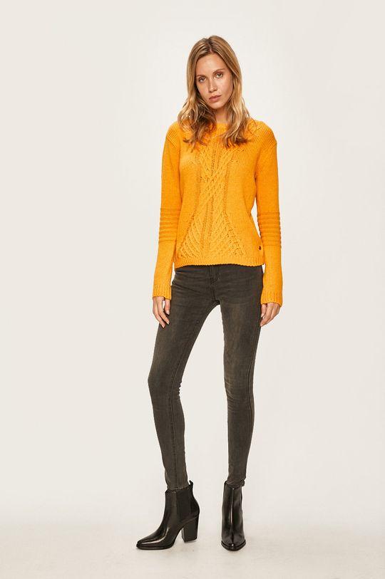 Roxy - Sweter żółty