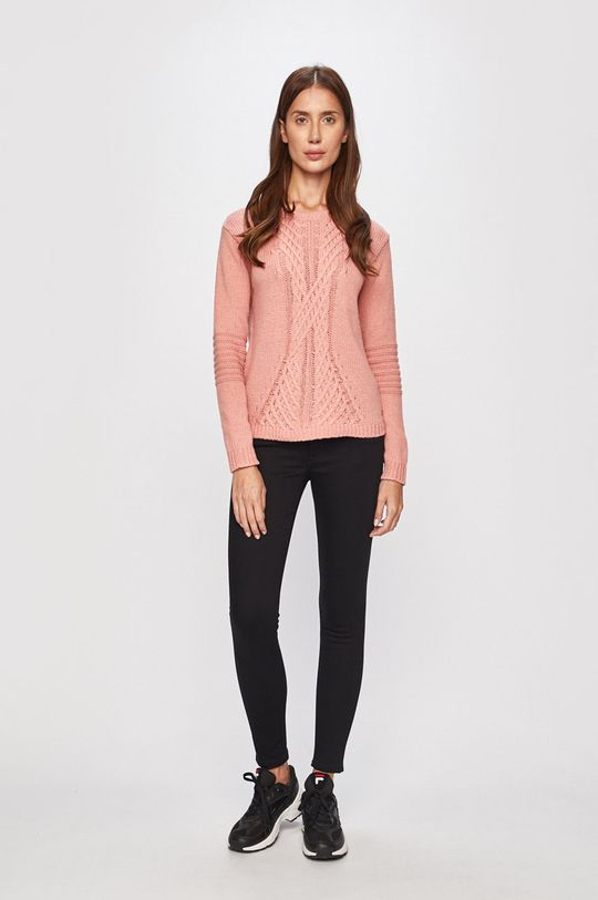 Roxy - Sweter różowy