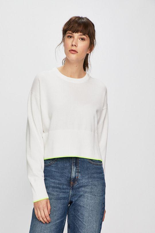 bílá Calvin Klein Jeans - Svetr Dámský