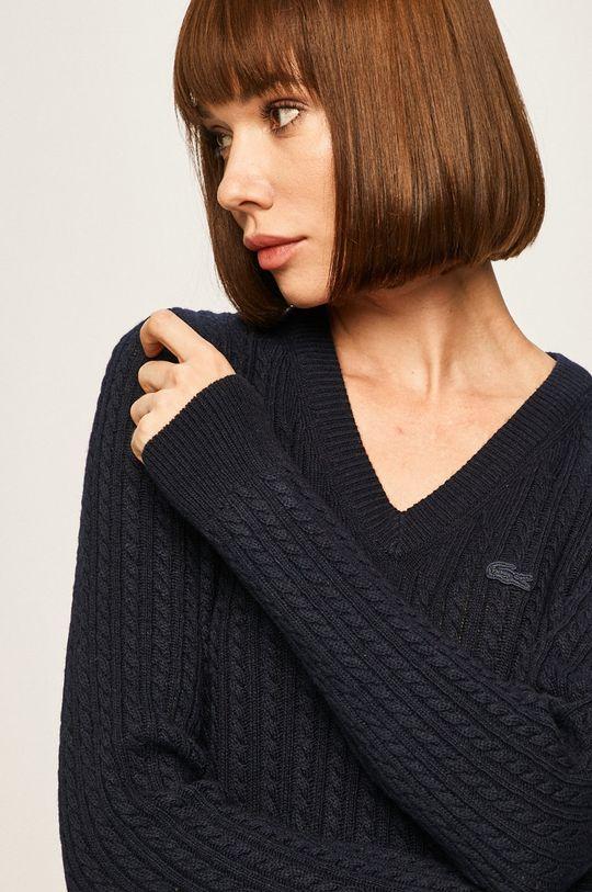 granatowy Lacoste - Sweter