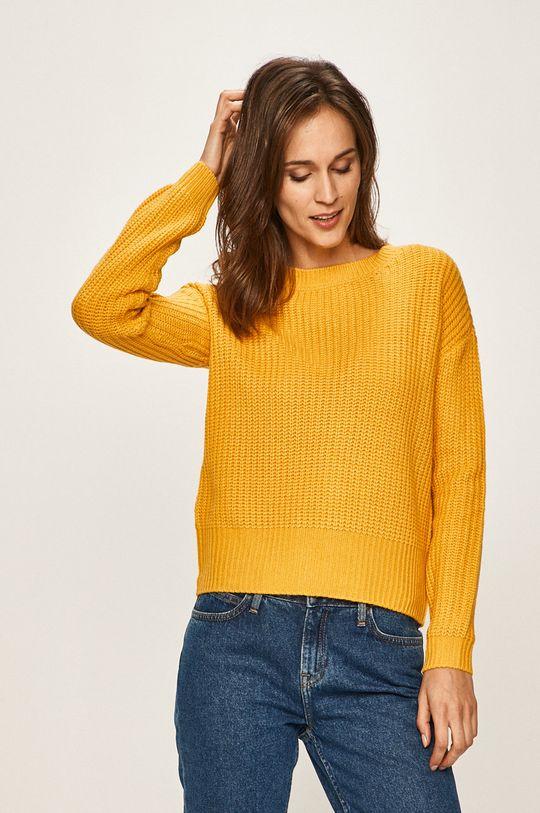 ciepły oliwkowy Vero Moda - Sweter Damski