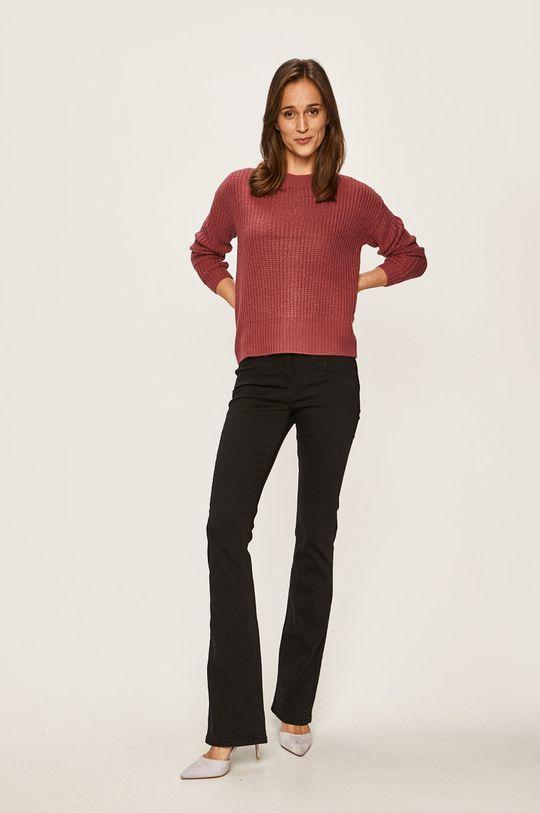 Vero Moda - Sweter fiołkowo różowy