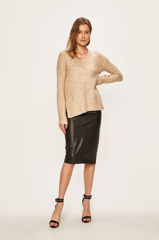 Vero Moda - Sweter piaskowy