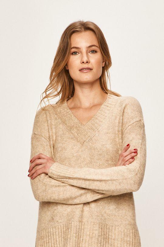piaskowy Vero Moda - Sweter