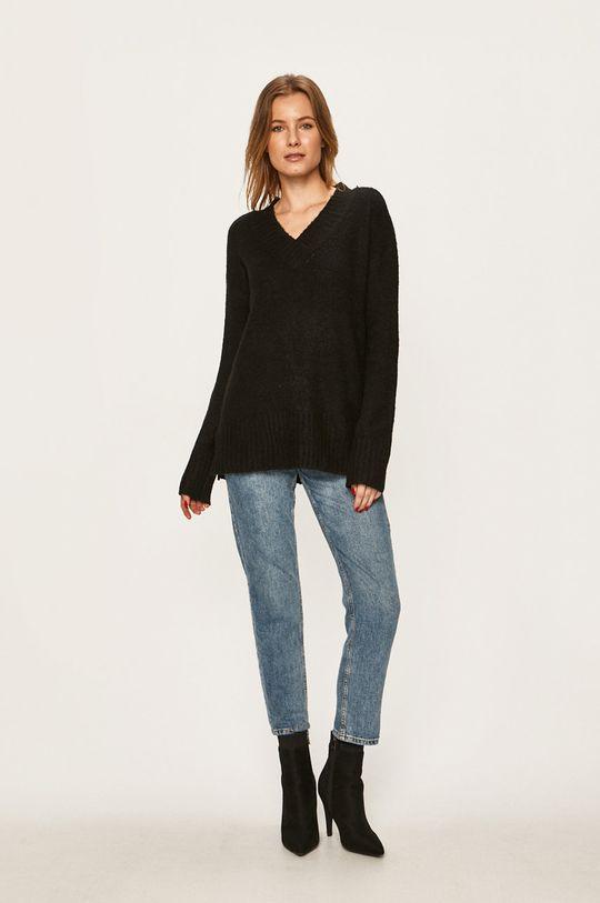 Vero Moda - Pulover negru