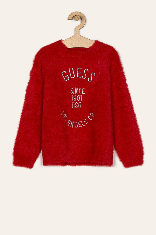 rosu Guess Jeans - Pulover copii 118-175 cm De fete