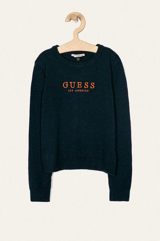 тъмносин Guess Jeans - Детски пуловер 118-175 cm Момиче