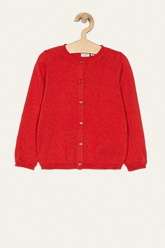 sýtočervená Name it - Detský sveter 92-128 cm Dievčenský