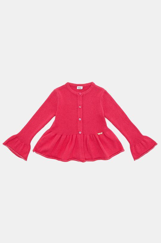 sýto ružová Blukids - Detský sveter 80-98 cm