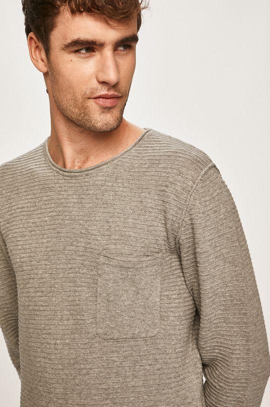 szary Blend - Sweter