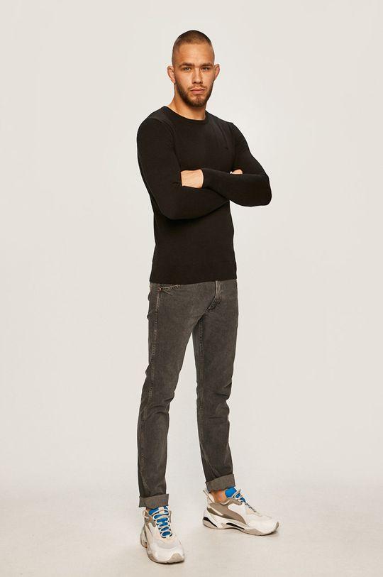 Tom Tailor Denim - Sweter czarny