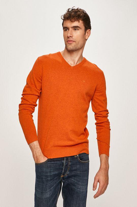 portocaliu Tom Tailor Denim - Pulover De bărbați