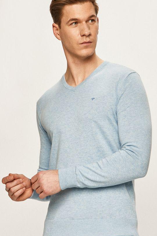 albastru Tom Tailor Denim - Pulover De bărbați