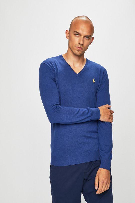 modrá Polo Ralph Lauren - Svetr Pánský