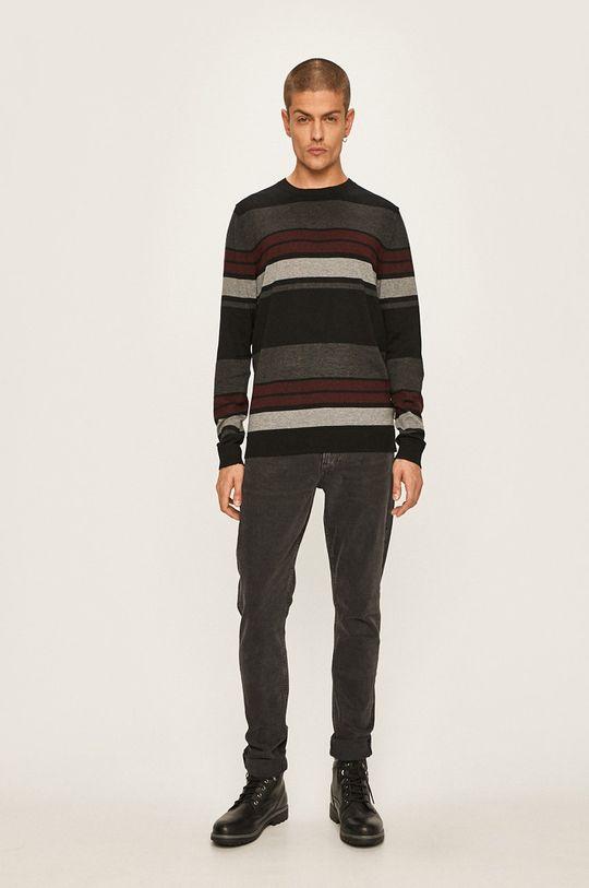 Premium by Jack&Jones - Sweter czarny