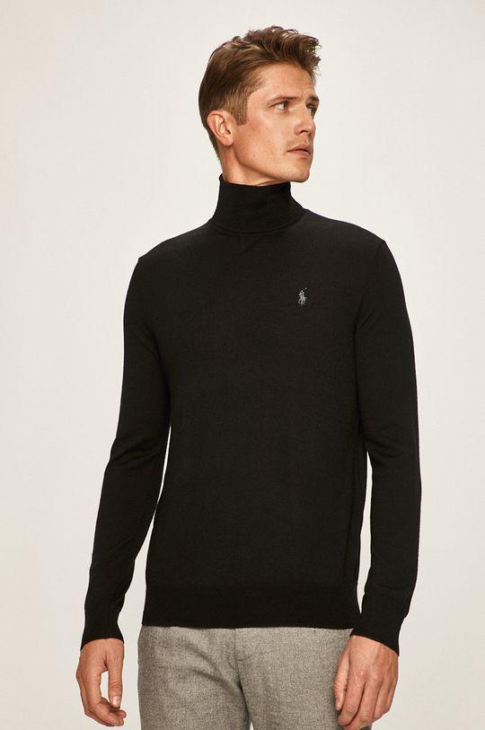 czarny Polo Ralph Lauren - Sweter Męski