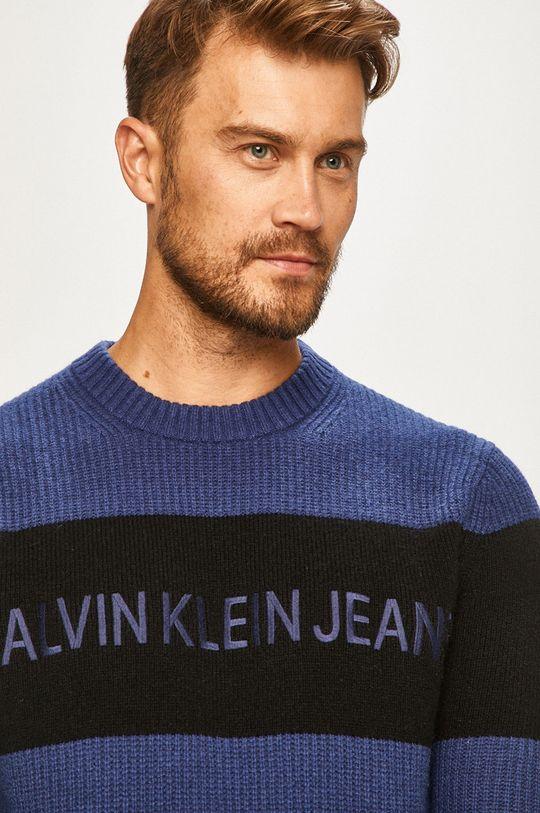 albastru Calvin Klein Jeans - Pulover