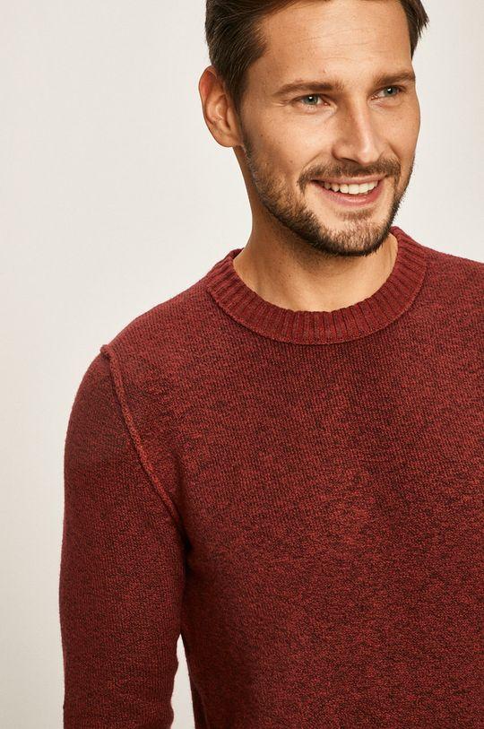 brązowy Jack & Jones - Sweter