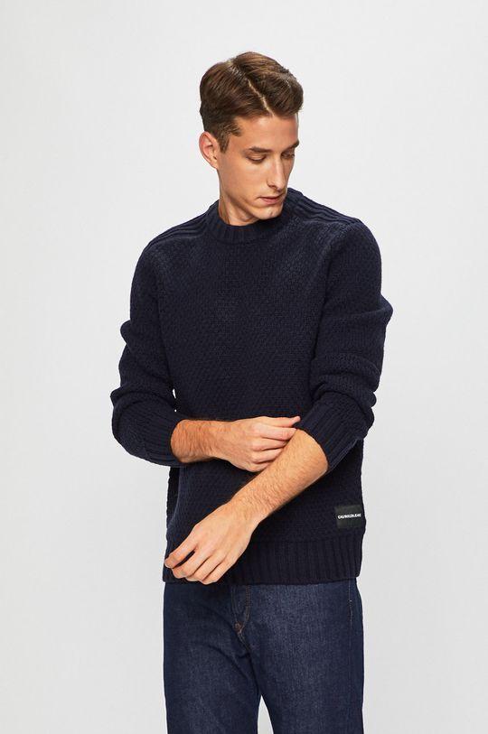 bleumarin Calvin Klein Jeans - Pulover De bărbați