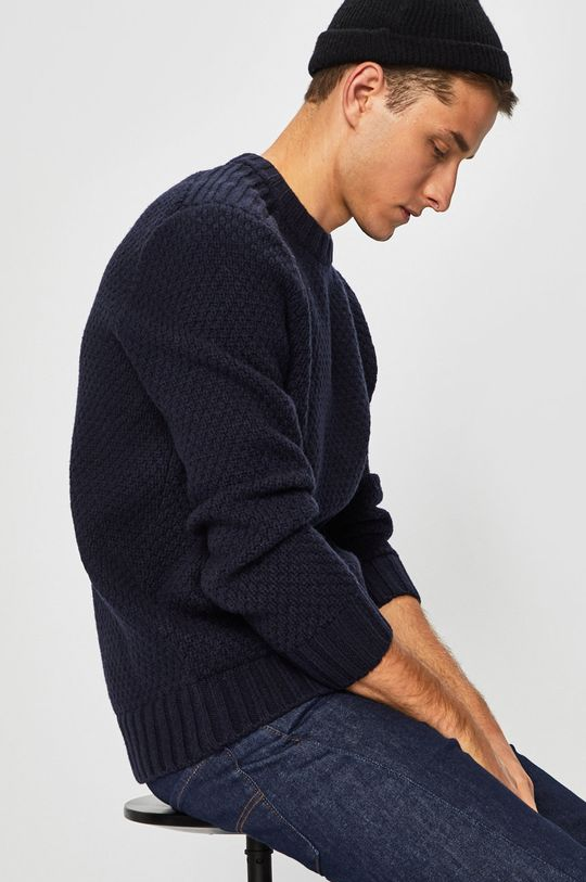 bleumarin Calvin Klein Jeans - Pulover