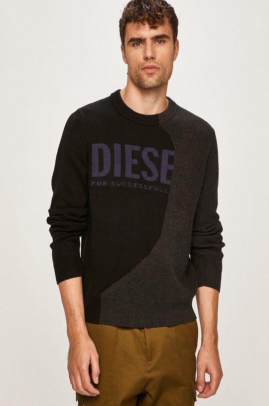 černá Diesel - Svetr