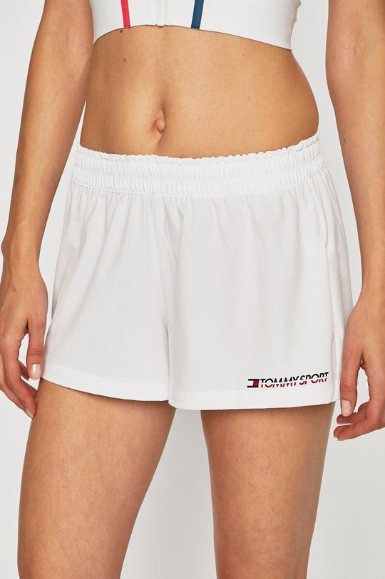 alb Tommy Sport - Pantaloni scurti De femei
