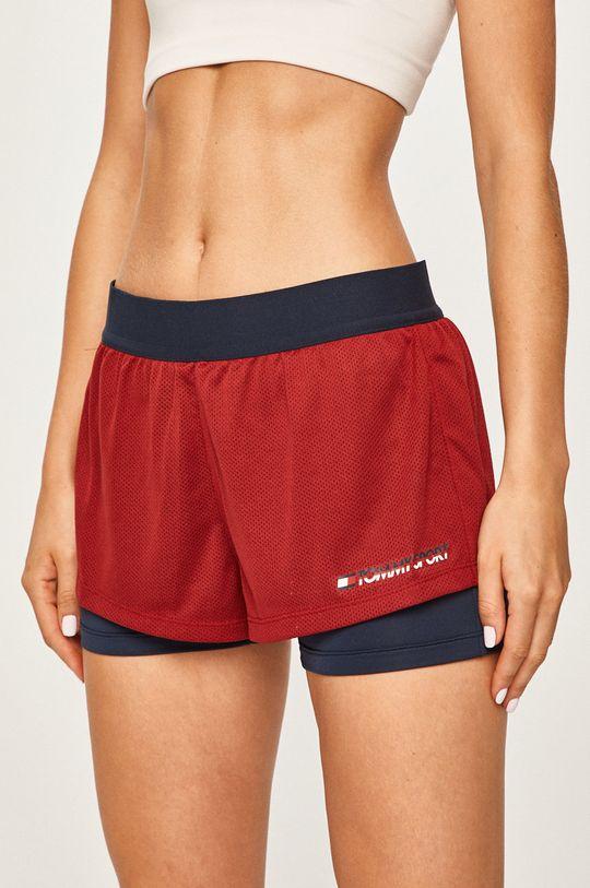 rosu Tommy Sport - Pantaloni scurti De femei