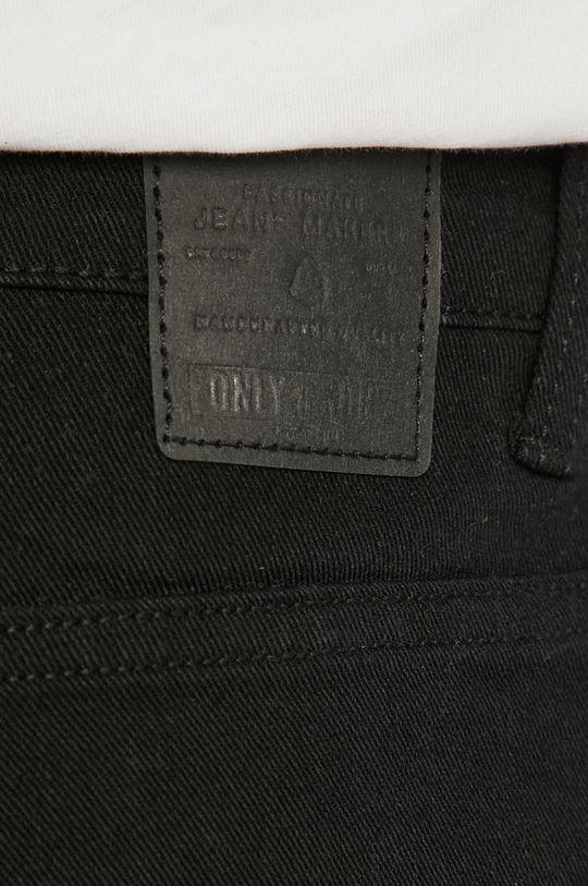 černá Only & Sons - Džínové šortky