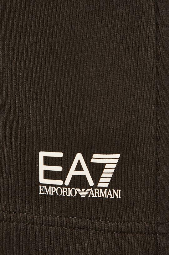 černá EA7 Emporio Armani - Kraťasy