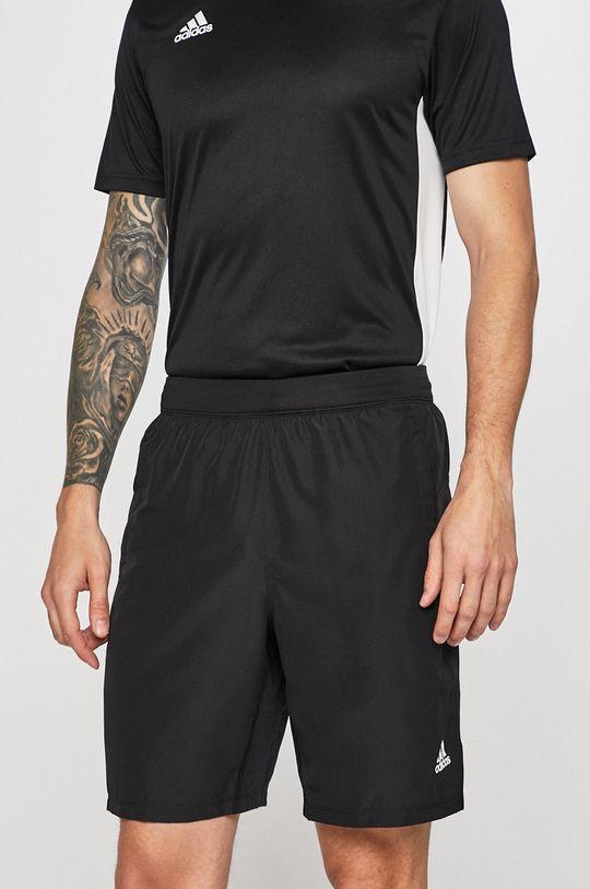 fekete adidas Performance - Rövidnadrág Férfi