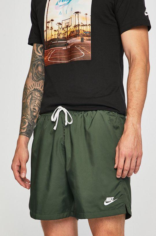 ocelová zelená Nike Sportswear - Kraťasy Pánský