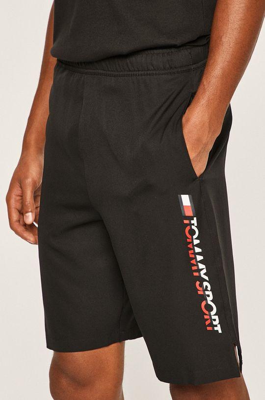 negru Tommy Sport - Pantaloni scurti De bărbați