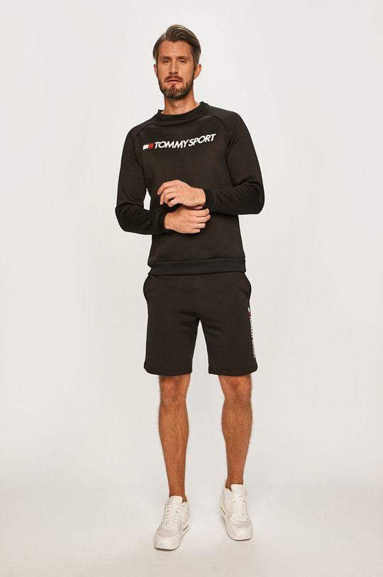 Tommy Sport - Pánske šortky čierna