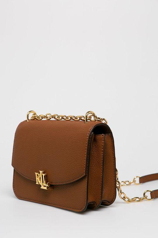Lauren Ralph Lauren - Kožená kabelka  Hlavní materiál: 100% Přírodní kůže