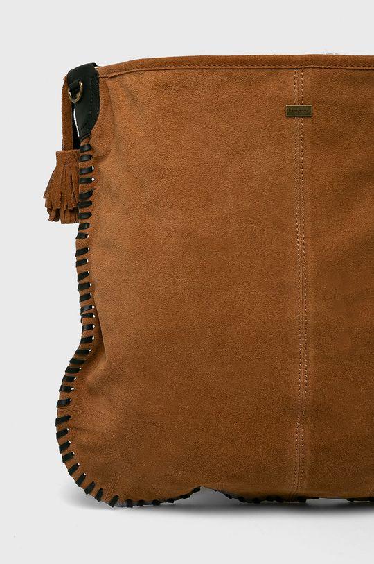 Pepe Jeans - Kožená kabelka Podšívka: 100% Bavlna Hlavní materiál: 100% Přírodní kůže