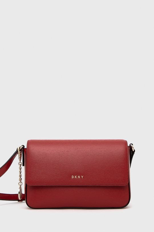 červená Dkny - Kožená kabelka Dámský